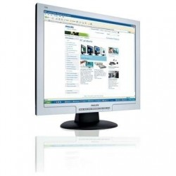 "Philips LCD monitor 19"" SXGA écran plat de PC 48,3 cm (19"")"
