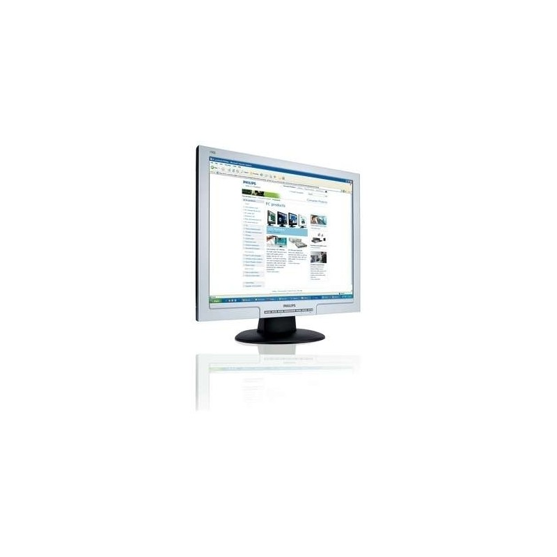 "Philips LCD monitor 19"" SXGA écran plat de PC 48,3 cm (19"")"