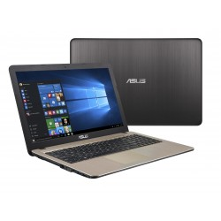 ASUS X540MA-GQ120T Schwarz, Schokolade Notebook 39,6 cm (15.6 Zoll) 1366 x 768 Pixel Intel® Pentium® Silver N5000 4 GB